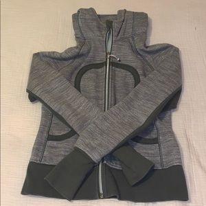 A Lululemon Full zip sweatshirt